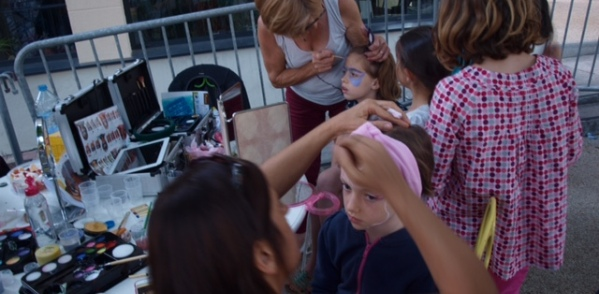 animation maquillage enfant